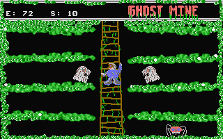 Ghost Mine atari screenshot